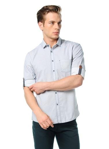 Uzun Kollu Slim Fit Oxford Gömlek-Wessi